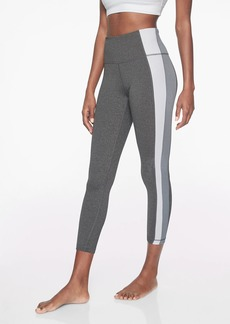 Athleta Colorblock Asym Powervita 7/8 Tight