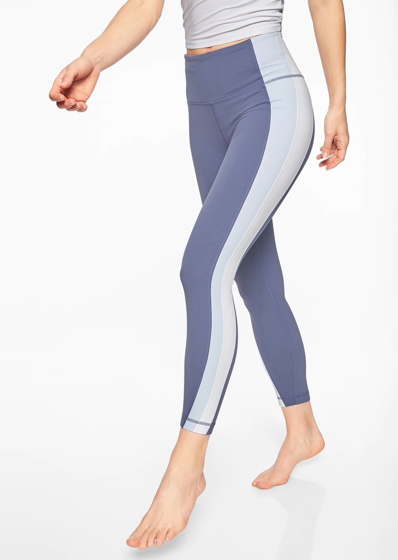 e22211d6d On Sale today! Athleta Colorblock Asym Powervita  153 7 8 Tight