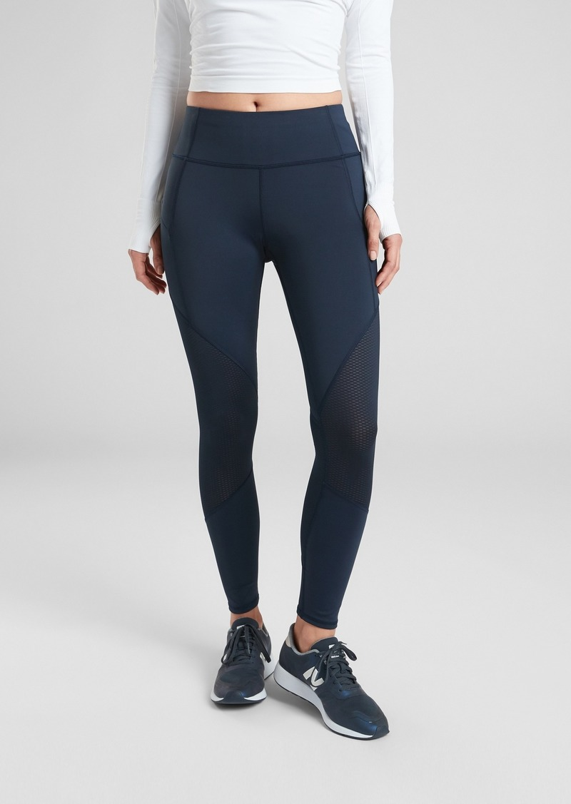 Athleta Contender Mesh 7/8 Tight in Powerlift