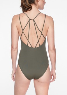 Athleta Cortes Strappy One Piece Swimsuit