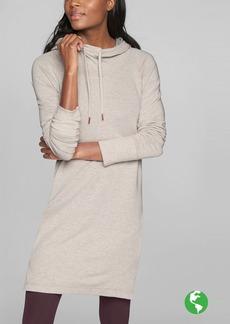 Athleta Cowl Lounge Sweatshirt Dress