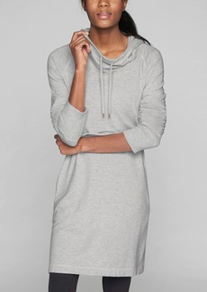 Athleta Cowl Lounge Sweatshirt Dress