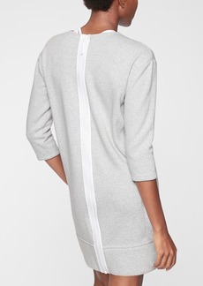 Athleta Cozy Karma Back Zip Sweatshirt Dress