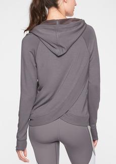 Athleta Criss Cross Back Hoodie Sweatshirt