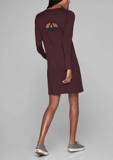 Crossover Sweatshirt Dress