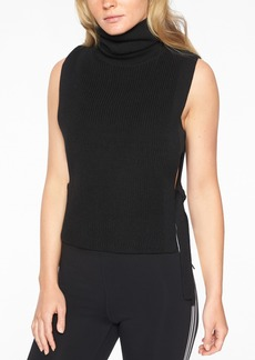 Athleta Doubletime Turtleneck Sweater Tank