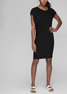 Athleta Draped Crew Dress