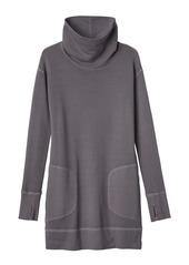 ce83bf41f1 ... Athleta Eco Wash Turtleneck Sweatshirt Dress ...