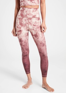 Athleta Elation Printed 7/8 Tight