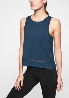 Athleta Essence Mesh Trim Tank