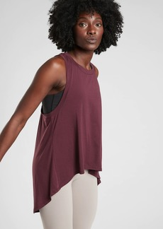 Athleta Essence Relaxed High Low Tank