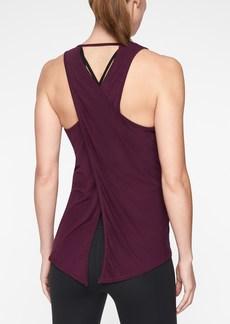 Athleta Essence Texture Tie Back Tank