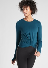 Athleta Essence Twist Top