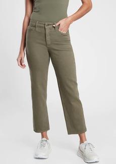 Athleta Flex Straight Crop Jean