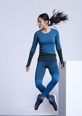 Athleta Flurry Colorblock Base Layer Top
