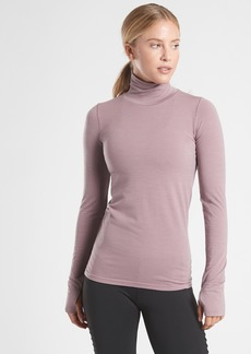 Athleta Foresthill Merino Wool Ascent Turtleneck
