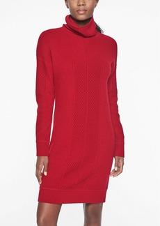Athleta Funnel Neck Sweater Dress
