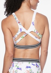 Athleta Gold Coast Floral Bikini Top