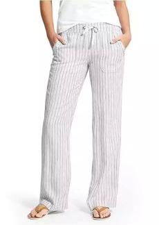 Herringbone Stripe Linen Pant