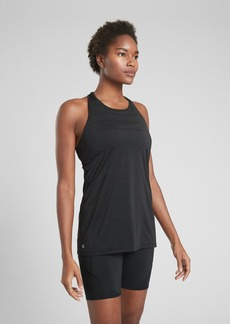 Athleta High Neck Chi Double Stripe Tank