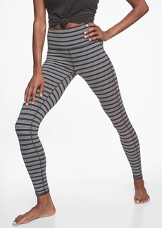Athleta High Rise Heather Stripe Chaturanga&#153  Tight