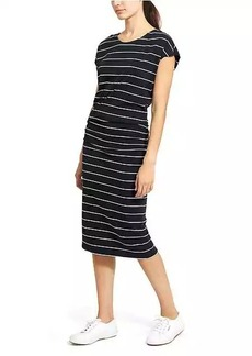 Athleta Horizons Stripe Midi Dress