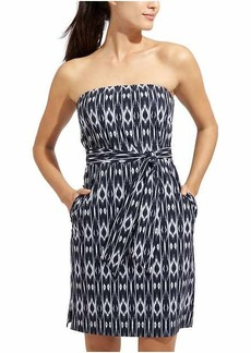 Ikat Strapless Anywhere Dress