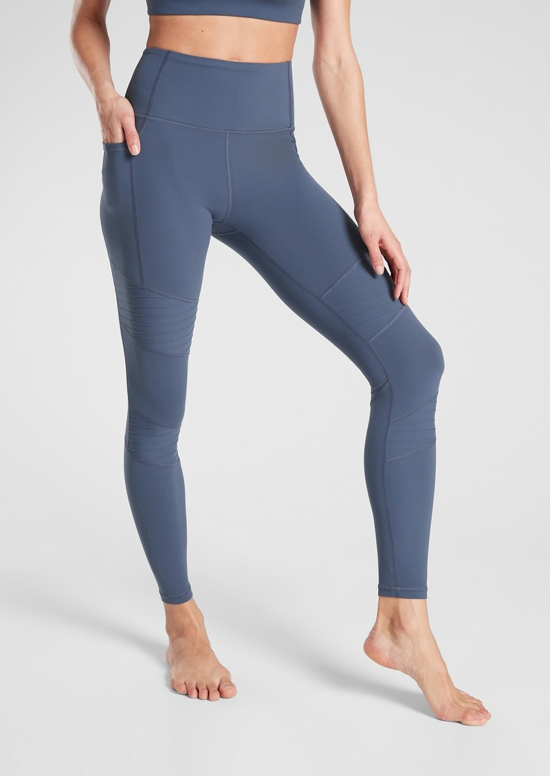 Athleta Inclination Moto Tight in Powervita&#153