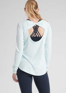 Athleta Jacquard Flexlight Train Top