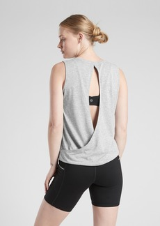 Athleta Jacquard Open Back Train Tank