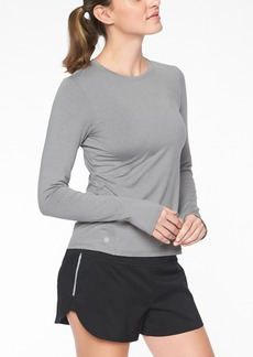 Athleta Limitless Heather Top