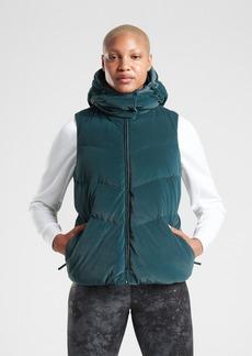 Athleta Lofty Velvet Down Vest