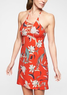 Athleta Loop Swim Dress Floral