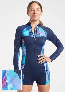 Athleta Malibu Printed Paddlesuit