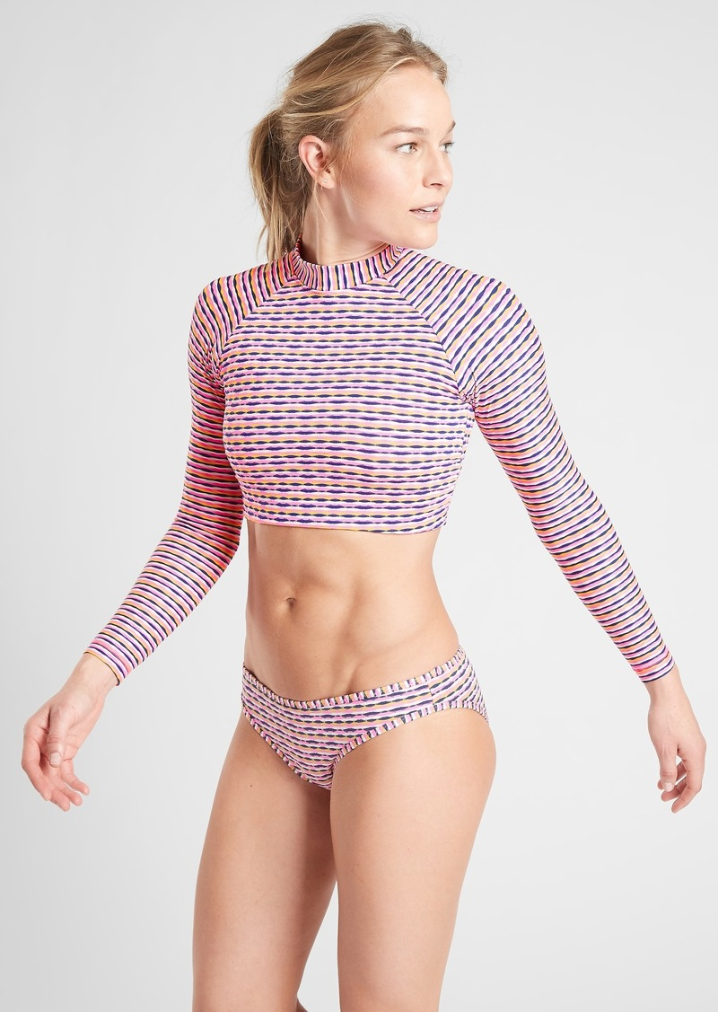 Athleta Marbella Long Sleeve Crop Rashguard