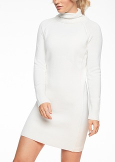 d4c16aa0d5 Athleta Eco Wash Turtleneck Sweatshirt Dress