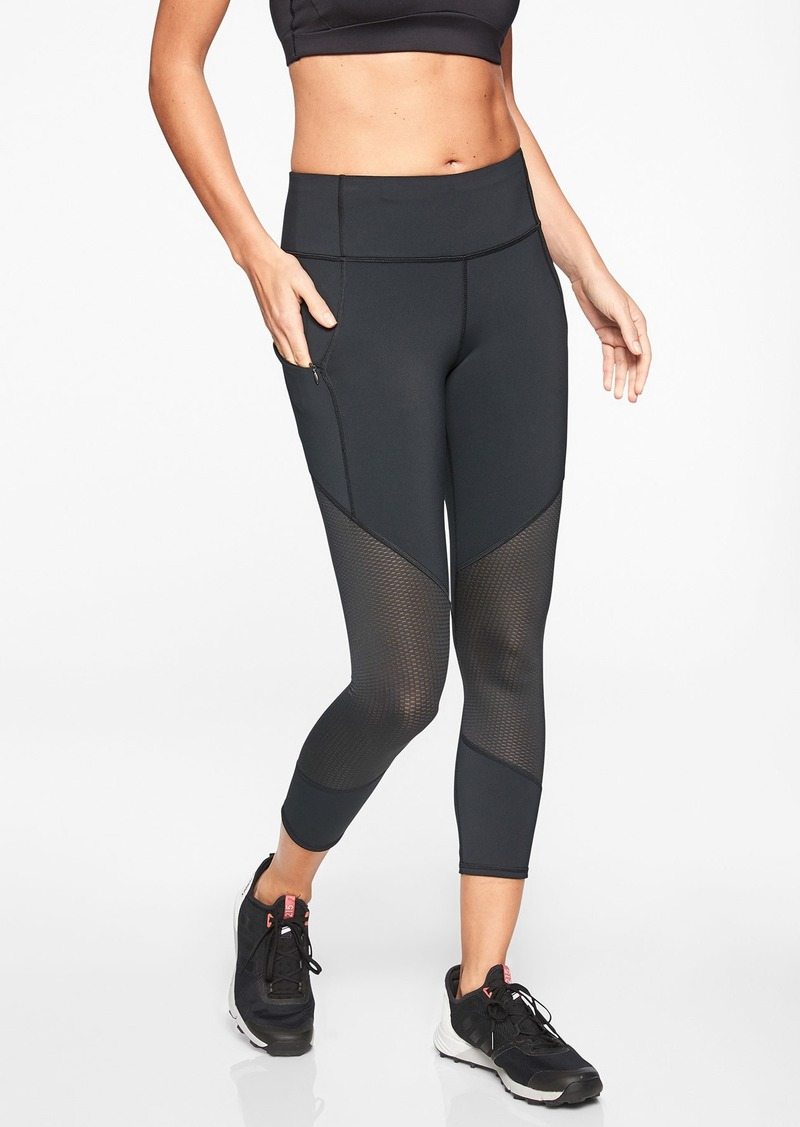 Athleta Mesh Contender Capri in Powerlift