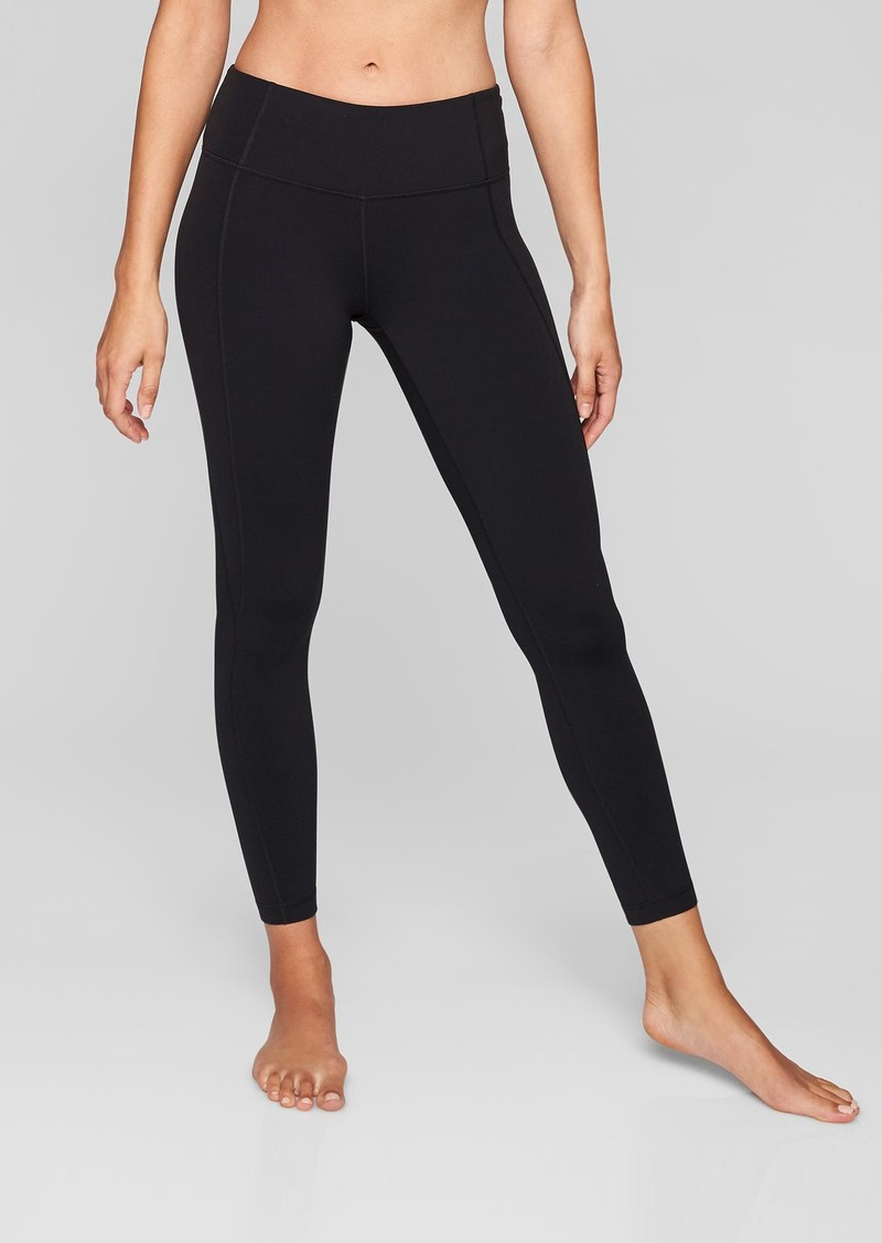 Athleta Mid Rise Salutation 7/8 Tight In Powervita&#153