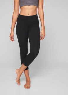 Athleta Mid Rise Salutation Capri In Powervita&#153