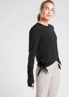 Athleta Nirvana Side Tie Sweatshirt