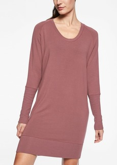 Athleta Nirvana V&#045Neck Sweatshirt Dress