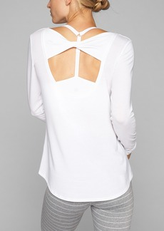Athleta Open Back Flexlight Top