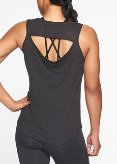 Athleta Organic Daily Cowl Tank