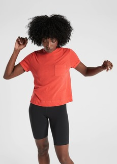 Athleta Organic Daily Pocket Tee