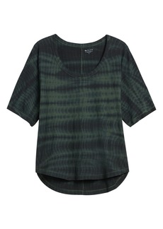 Athleta Organic Daily Tie Dye Commute Tee