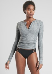 Athleta Pacifica Contoured Heather Top