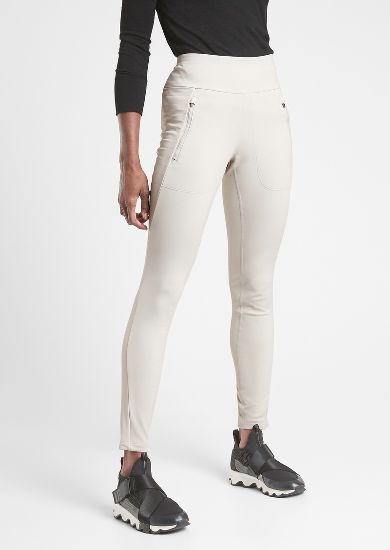 Athleta Peak Hybrid Fleece Tight