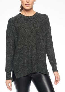 Athleta Perspective Wool Cashmere Crew