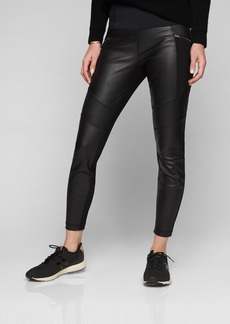 Athleta Ponte Leather Legging