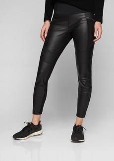 Athleta Ponte Leather Legging